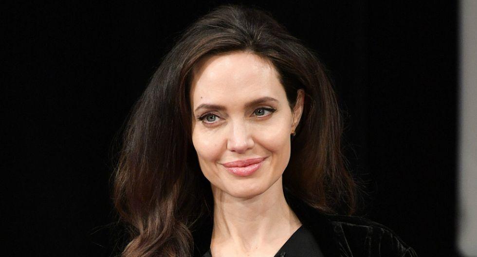 Angelina Jolie se dirigió a las mujeres más jóvenes. Foto: AFP