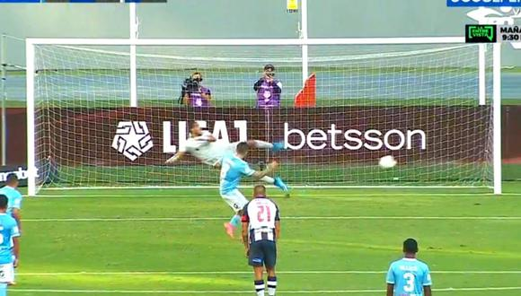 Hohberg  anota doblete ante Alianza Lima (captura)