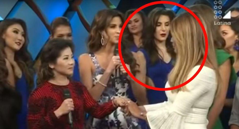 Miss Perú 2019: Candidata se desmayó en presentación y 'asustó' a Jessica Newton