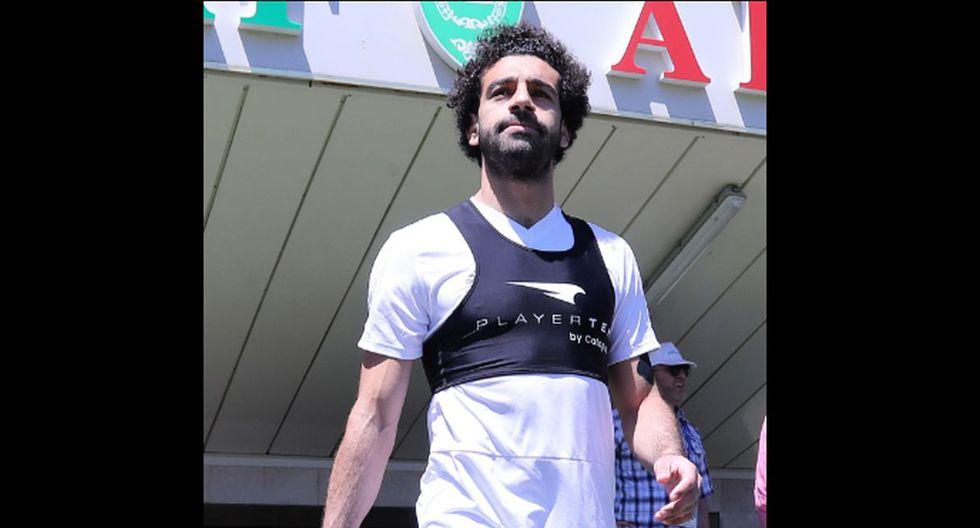 Mohamed Salah quiere estar preparado para su debut en Rusia 2018. (Fotos: Agencias)