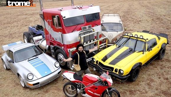 Se realizará en Cusco la primera exposición de autos de la película Transformers: 'The Rise of The Beasts'. (Corresponsal Cusco: Juan Sequeiros)