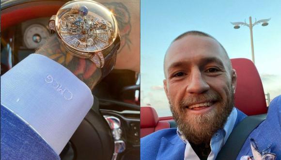 Según la revista GQ, Conor McGregor tiene una fortuna valorizada en los 120 millones de dólares. (Instagram)