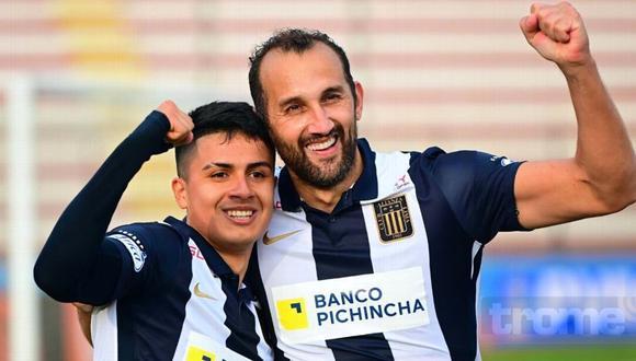 Hernán Barcos adelanta noticia de su posible renovación (Foto: GEC)