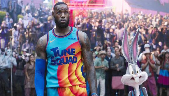 """""""Space Jam: Una nueva era"""", protagonizada por LeBron James, llega a los cines esta semana. (Foto: WB)"""