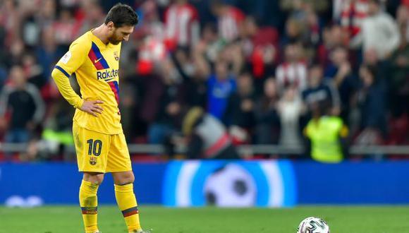 Barcelona eliminado de la Copa del Rey: Perdió 1-0 ante Athletic Bilbao con gol en el último minuto