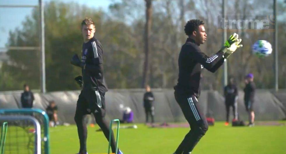 Pedro Gallese inició pretemporada en Orlando City