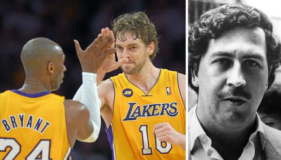 Pau Gasol y Kobe Bryant compartieron vestuario en Los Ángeles Lakers de la NBA