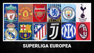 Superliga Europea: ¿Qué equipos la conforman y cómo funcionaría este torneo?