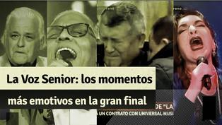 """""""La Voz Senior"""": mira el triunfo de Mito Plaza y los momentos más emotivos de la gran final"""