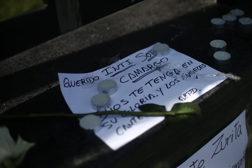 Cientos de personas le rinden homenaje a Inti y Brian, los jóvenes asesinados durante las marchas en contra del gobierno de Manuel Merino
