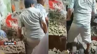 Hay heridos: Persona quedó atrapada tras derrumbe de su vivienda por sismo en Piura
