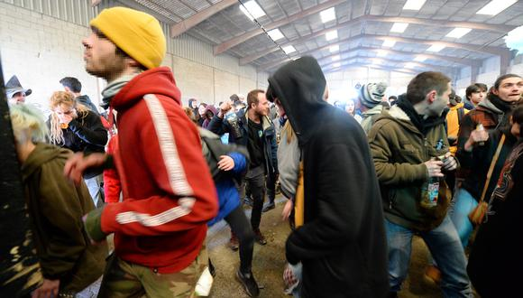 Fiesta clandestina celebrada en enero en Francia (foto referencial). (Foto: AFP)
