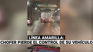 Vehículo sin chofer estuvo apunto de provocar un accidente en la Línea Amarilla
