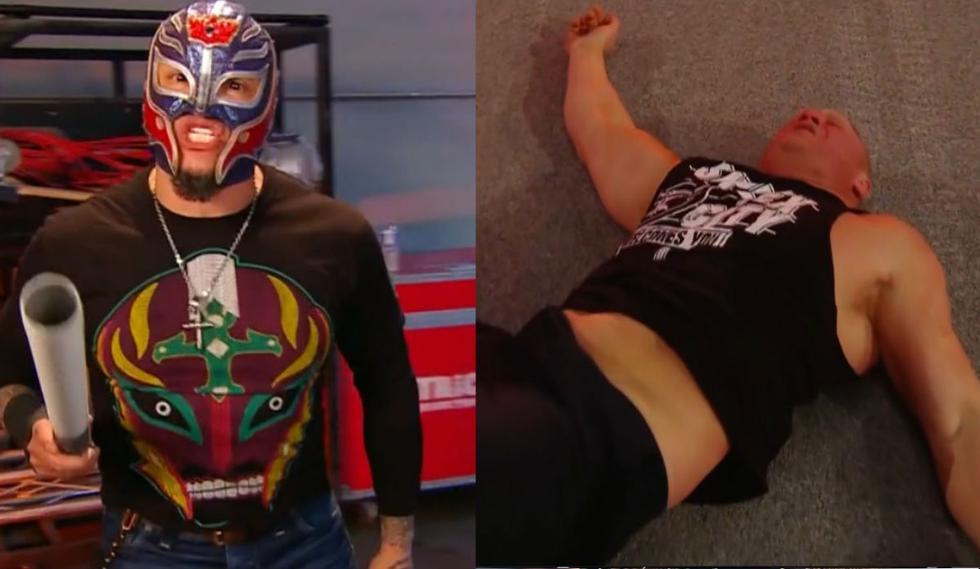 Rey Mysterio quiere el campeonato de WWE. (Captura Fox Sports 2)