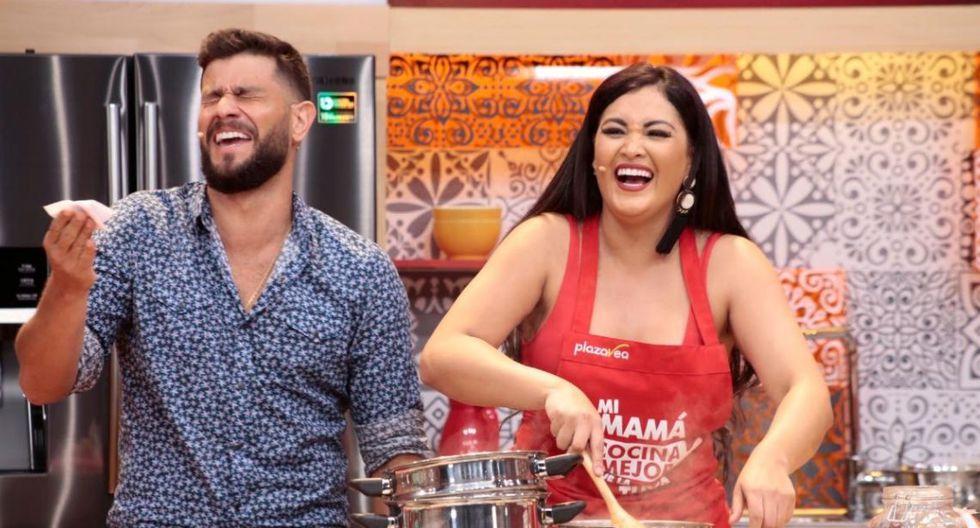 Michelle Soifer y Miguel 'Conejo' Rebosio juntos en nueva temporada de 'Mi mamá cocina mejor que la tuya'