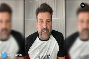 José María Listorti confirma que padece COVID-19