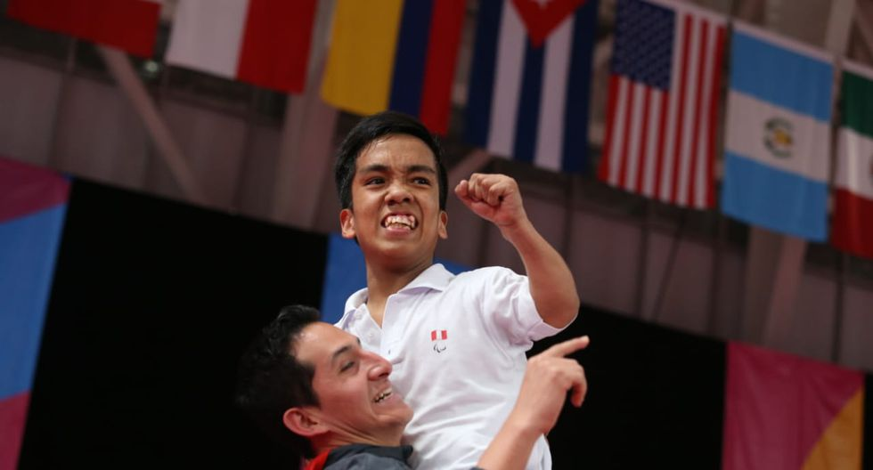 Héctor Salva: Medalla de bronce en para bádminton. (Foto: Violeta Ayasta / GEC)