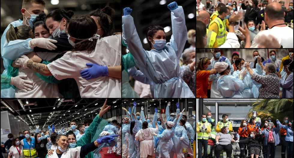 Coronavirus España: Hospital de campaña celebró su cierre tras baja de infectados y nace la esperanza | Trome