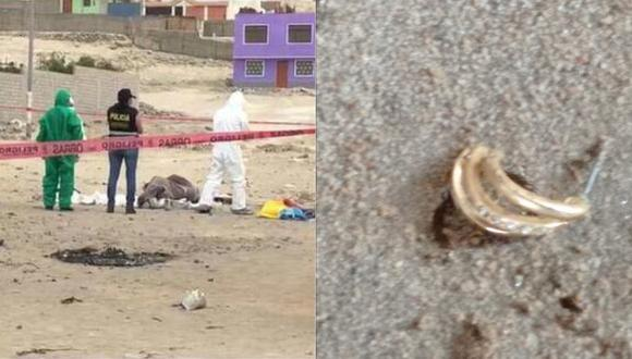 Durante el registro del inmueble, se pudo encontrar evidencias similares a la que los peritos de criminalística ubicaron en el cuerpo de la menor (Foto: PNP)