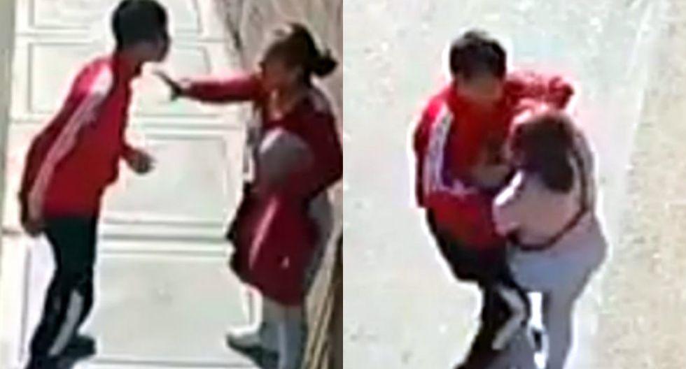 Juez deja en libertad a ladrón que fue captado acuchillando a mujer para robarle. Foto: Captura de Facebook