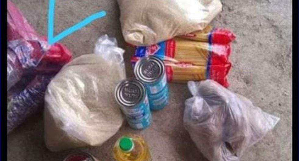 Piura. Pobladores denuncian sobrevaloración en canastas con alimentos que entregan alcaldes. (GEC)