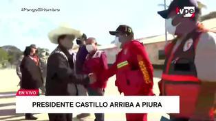 Sismo en Piura: así fue la llegada de Pedro Castillo tras fuerte sismo de 6.1 grados en Sullana