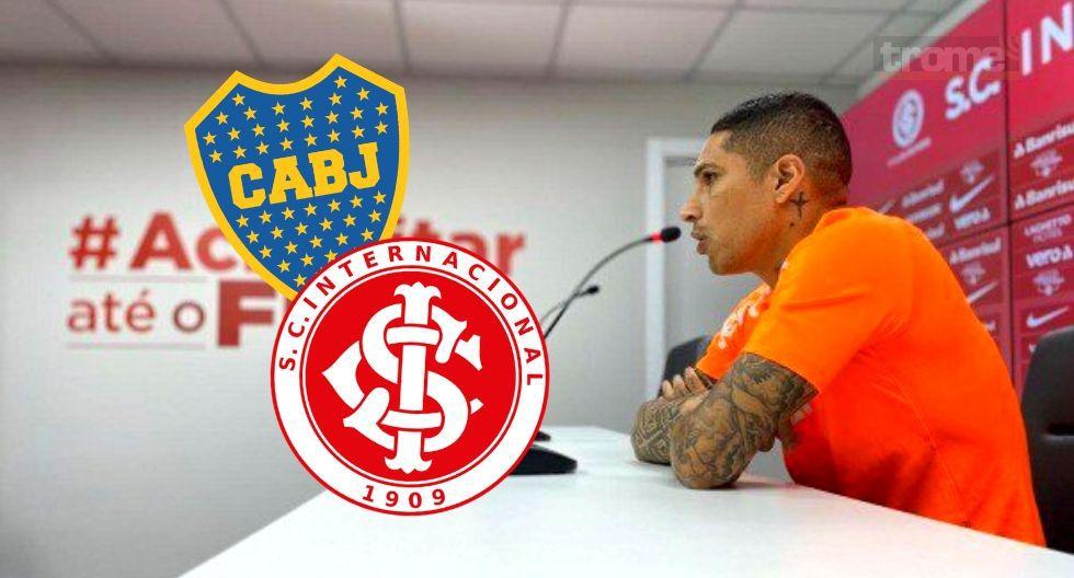 Paolo Guerrero nuevo  sobre Boca Juniors