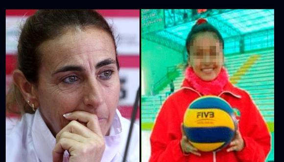 La entrenadora habló sobre caso de Alessandra Chocano
