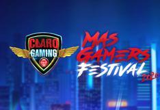 Claro Gaming MasGamers Festival 2020 se realizará por primera vez en versión digital