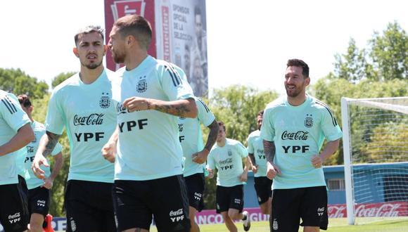 Lionel Scaloni dio a conocer el once de Argentina para duelo ante Perú por Eliminatorias Qatar 2022