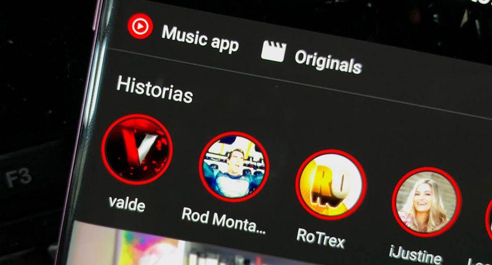 YouTube habilitó 'historias' con todas las características que le faltaban a las de Instagram y Facebook.