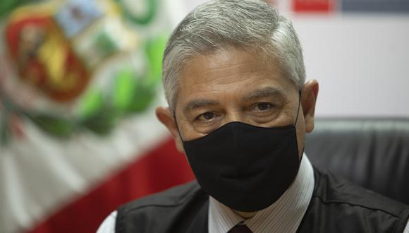 El ministro del Interior, José Elice, se refirió a las marchas convocadas para este sábado 19 de junio por Fuerza Popular y Perú Libre. (Foto: Archivo GEC)