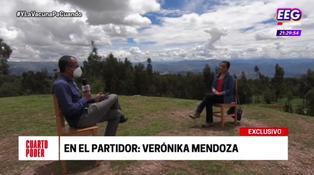"""Verónika Mendoza sobre Venezuela: """"Cuando la situación se tornó crítica y autoritaria, señalamos que ese es un régimen dictatorial"""""""