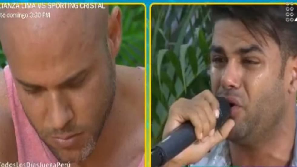 Erick Sabater rompe en llanto y le pide disculpas a Bruno Agostini en vivo