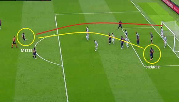 Gol de Luis Suárez en Barcelona vs Celta de Vigo por LaLiga