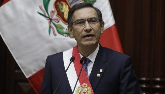 El presidente Martín Vizcarra dio su Mensaje a la Nación desde el Congreso de la República. (GEC)