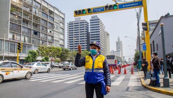 Modificación de tránsito en la Av. Tacna irá hasta el 1 de noviembre, de 7 a.m. a 9 p.m.  (Foto: Municipalidad de Lima)