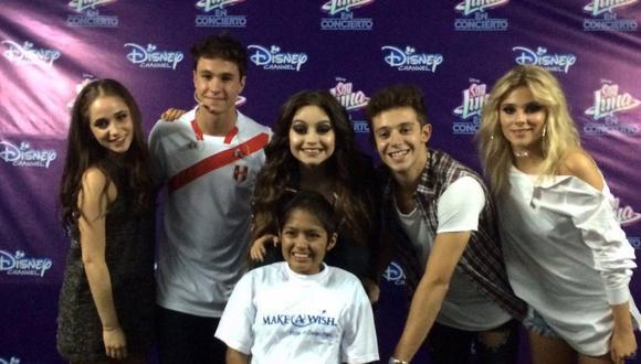 Soy Luna: joven peruana cumplió su sueño de conocer a Karol Sevilla