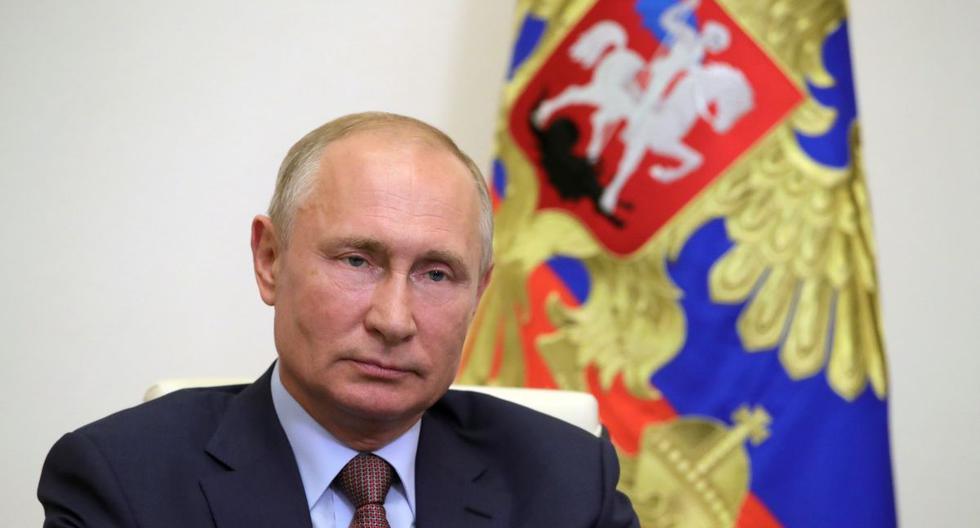 Imagen del presidente de Rusia, Vladimir Putin. (Mikhail KLIMENTYEV / SPUTNIK / AFP).