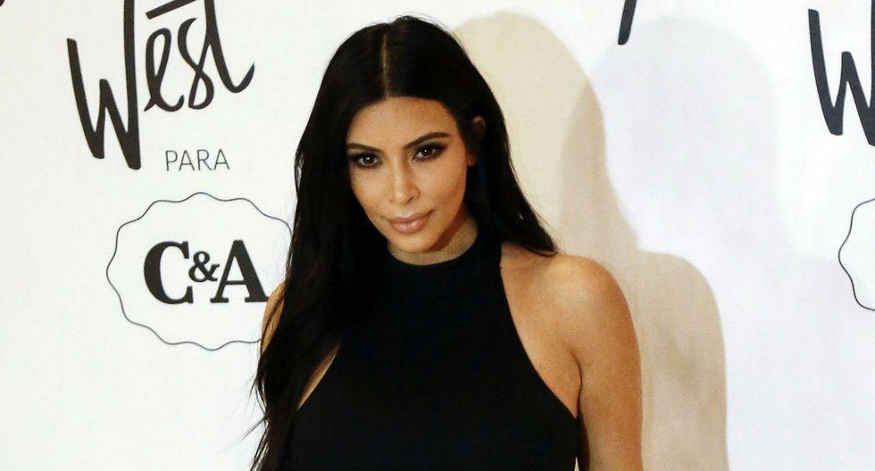 Kim Kardashian dejó anonadados a miles. (Composición: Trome.pe / Fotos: AFP)