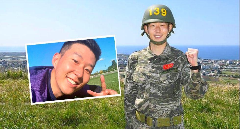 Son Heung Min regresó a Inglaterra después de cumplir servicio militar en  Corea del Sur