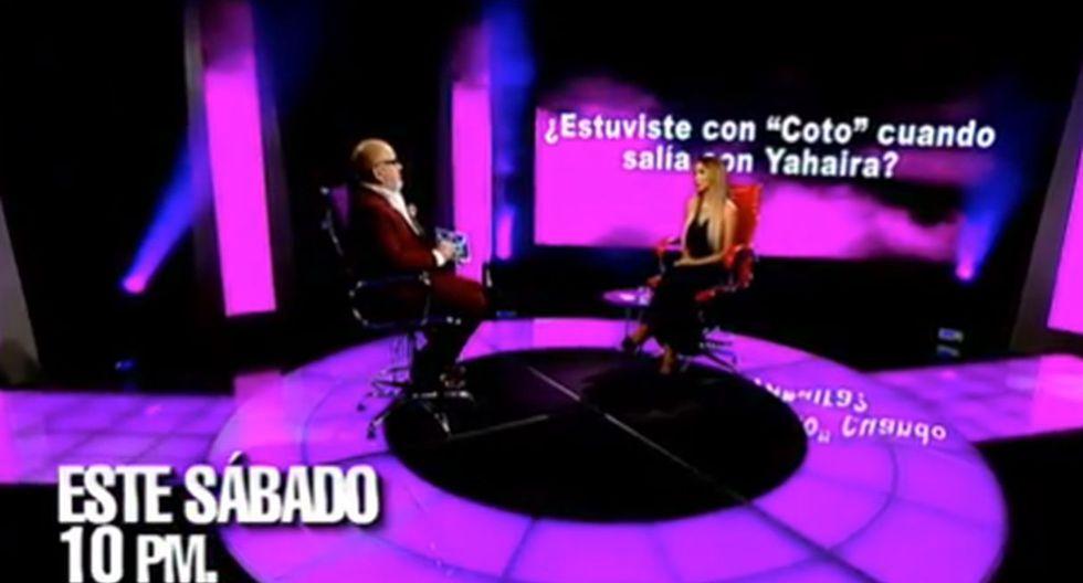 Paula Manzanal responderá si mantuvo relaciones con Nicola Porcella cuando estuvo con Romina Lozano. (Capturas: Facebook/Beto Ortiz)