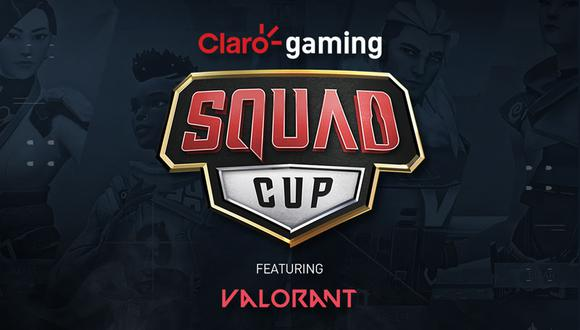 Claro Gaming Squapd Cup ft. Valorant es un torneo de eSports del popular shooter Valorant. (Imagen: Claro Gaming)
