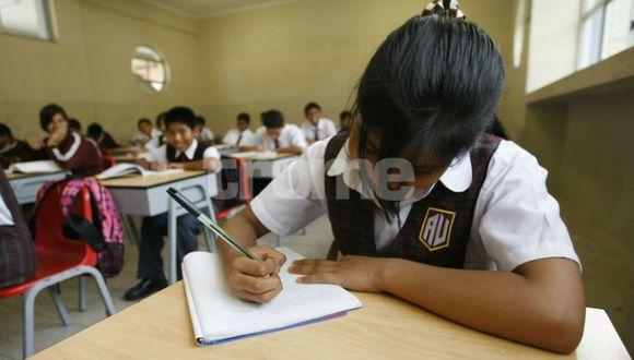 Evaluarán a los escolares con letras.