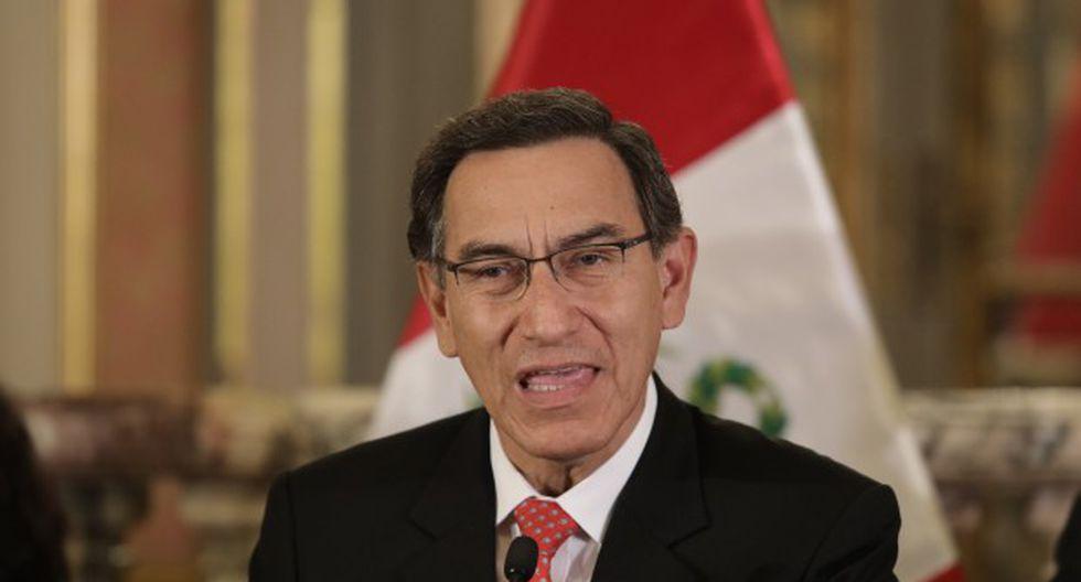 El presidente Martín Vizcarra promulgó cuatro de las seis leyes de la reforma política. (Foto: GEC)