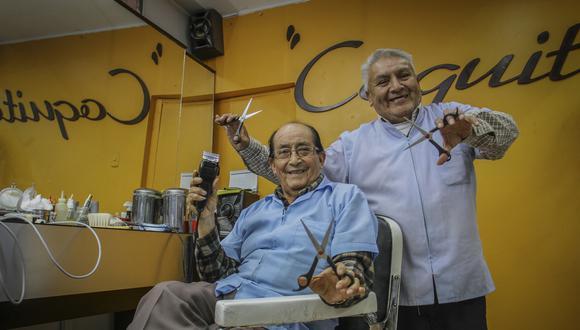 peluqueros de antaño