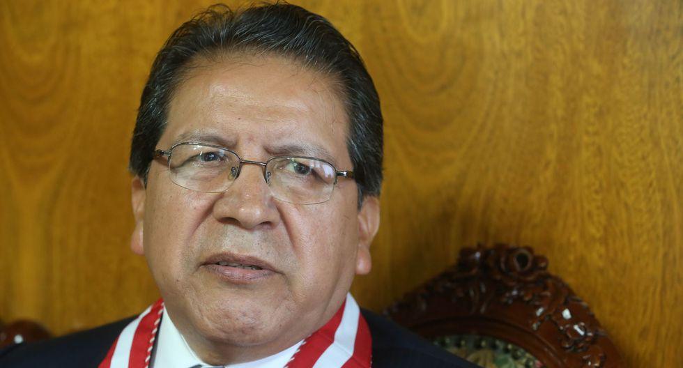 Fiscal de la Nación, Pablo Sánchez, se pronunció sobre polémica en torno a las indagaciones de sonado caso de corrupción.