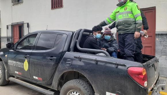 El menor involucrado en el ataque en Huánuco delató a los dos individuos. (Foto: Tu Diario Huánuco)