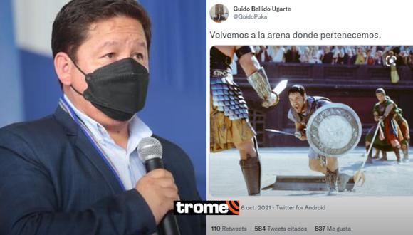 Guido Bellido y su extraño mensaje tras renuncia