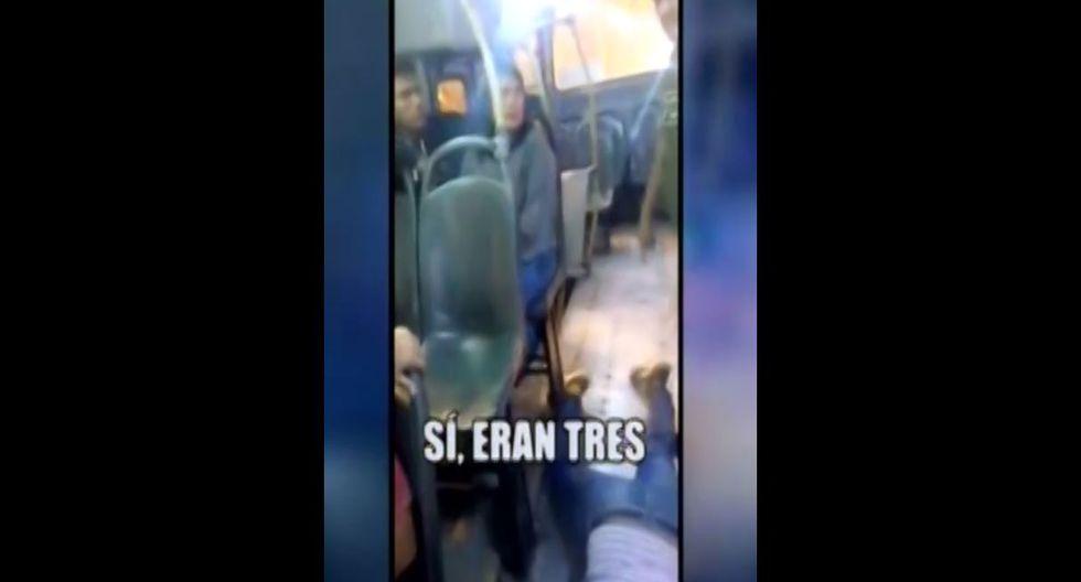 Detención de delincuente que fue baleado en bus de Villa El Salvador